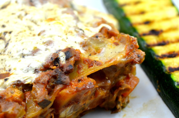 Lasagne close