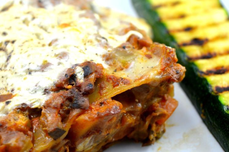 Lasagne close