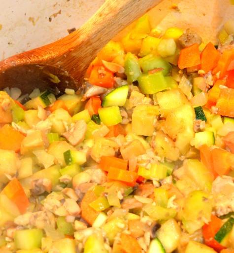 Lasagne veg in pot