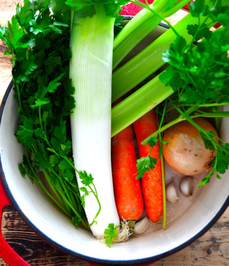 Veg stock ingredients