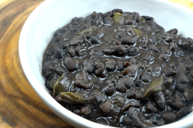 Black Beans Close