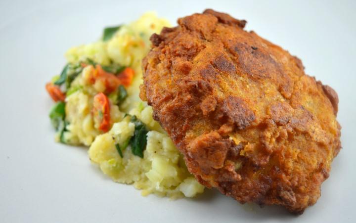 fried chicken far