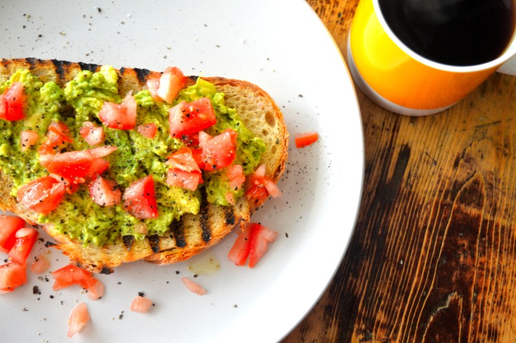 Avo toast top