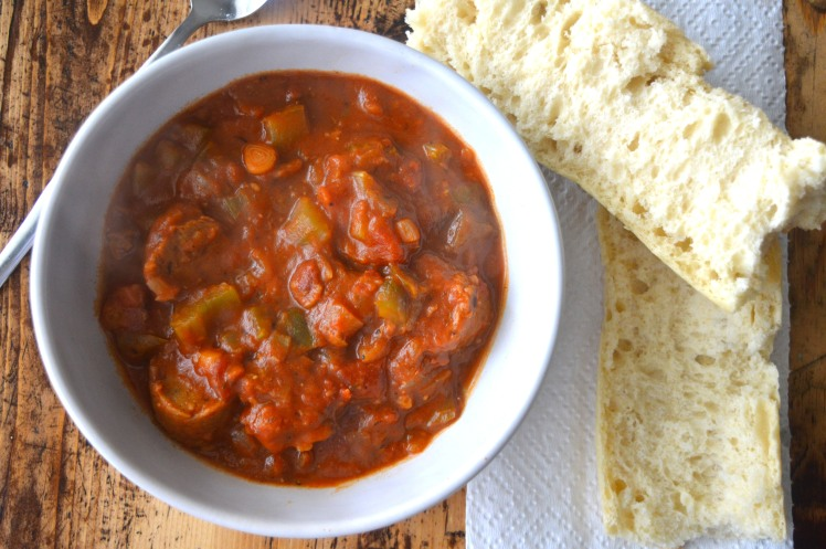 Southern Sausage Stew Top