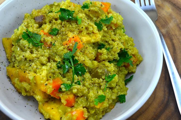 Quinoa Broc Top