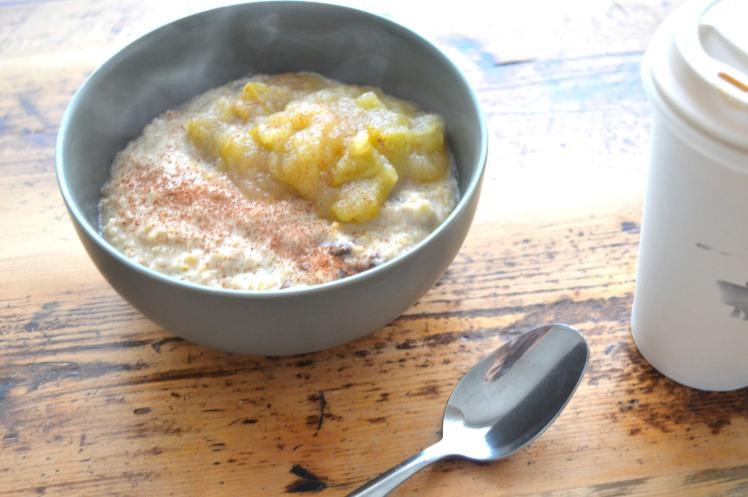 Oatmeal stew side