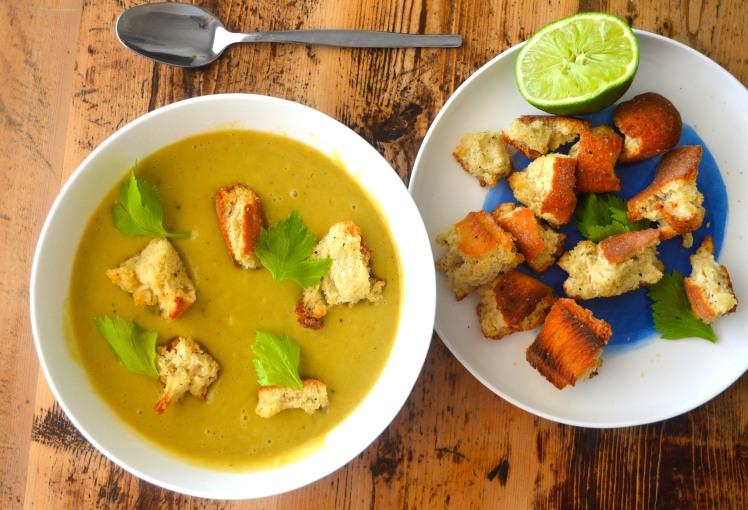 Celery Soup Top