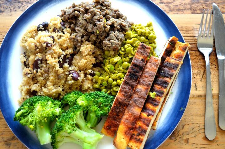 Vegan Protein close
