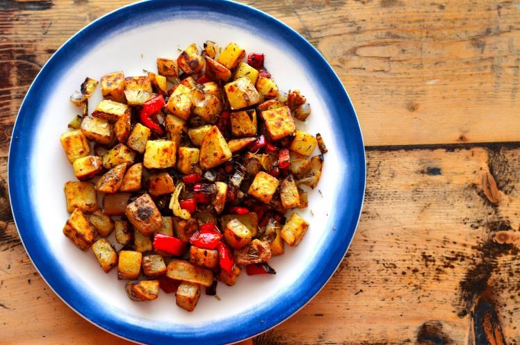Breakfast Potato Hash Top Side