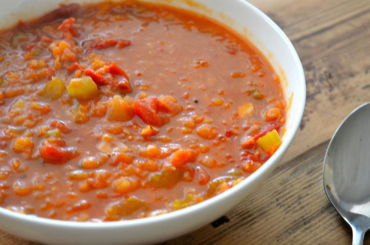 Lentil Soup Side