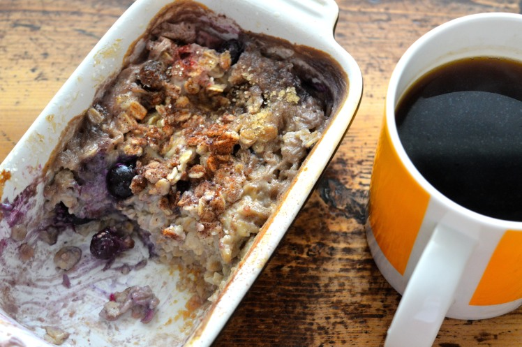 Baked Oatmeal coffee